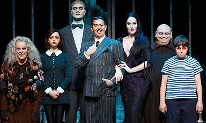 """""""The Addams Family"""" - State Theatre: """"The Addams Family"""" Musical at State Theatre on October 25 or 26 (Up to 67% Off)"""