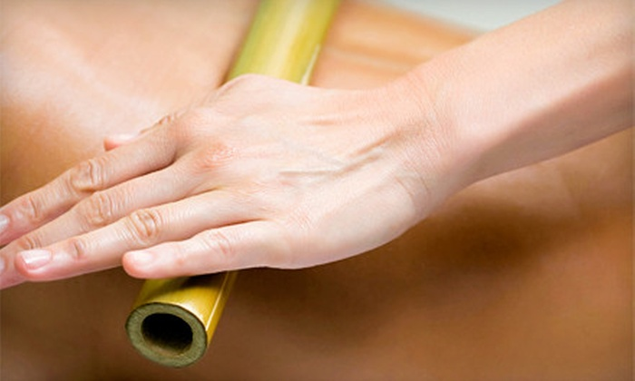 Gifted Touch Therapeutic Massage - Evans: $39 for a 60-Minute Bamboo Massage with Neck Wrap and Stone Treatment at Gifted Touch Therapeutic Massage ($80 Value)