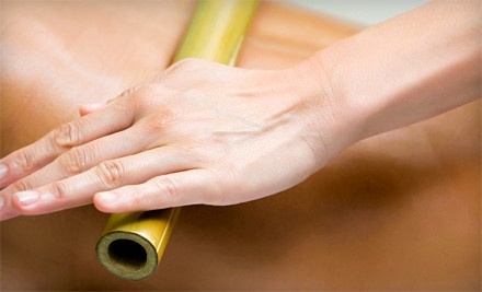 $39 for a 60-Minute Bamboo Massage with Neck Wrap and Stone Treatment at Gifted Touch Therapeutic Massage ($80 Value)