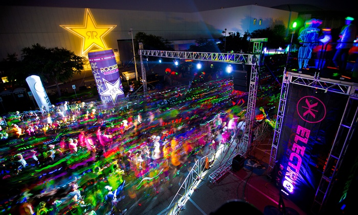 Electric Run - Six Flags Fiesta Texas: One or Two Entries to Electric Run on Friday, November 21 (Up to 40% Off)