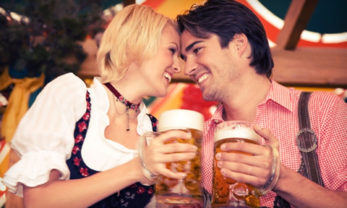 Das Best Oktoberfest - Fort Washington: $35 for Friday Admission for One with German Sausage Dinner and Unlimited Drinks to Das Best Oktoberfest ($59 Value)