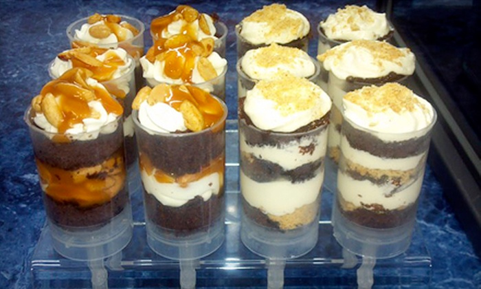 Panther Grill - Morrisville: One Dozen or Two Dozen Custom Cake Push-Pops at Panther Grill (Half Off)