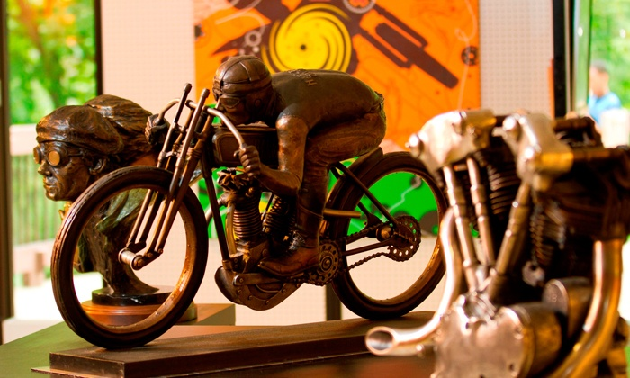 Motorcycle Hall of Fame Museum - South Columbus: Motorcycle Hall of Fame Museum Visit for Two or Four (Up to 48% Off)
