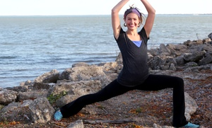 Living Waters Yoga: 10 Christian Yoga Classes or One Month of Unlimited Classes at Living Waters Yoga (Up to 87% Off)