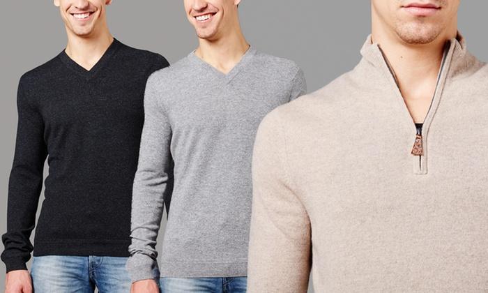Forte Men's Cashmere: Forte Men's Cashmere. Multiple Options.