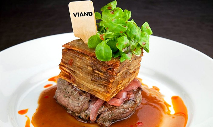Viand Bar & Kitchen - Near North Side: 30% Off Your Entire Bill at Viand Bar & Kitchen. Reservation Through Groupon Required.
