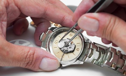 £20 or £40 Toward Watch Battery Replacement or Maintenance Services at Dr Jones Watch Repairs (Up to 50% Off)