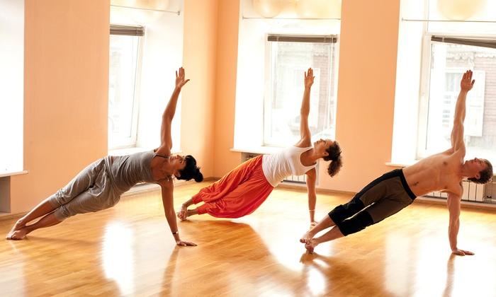 Hotlanta Yoga - Old Fourth Ward: 10 or 20 Yoga Classes at Hotlanta Yoga (65% Off)