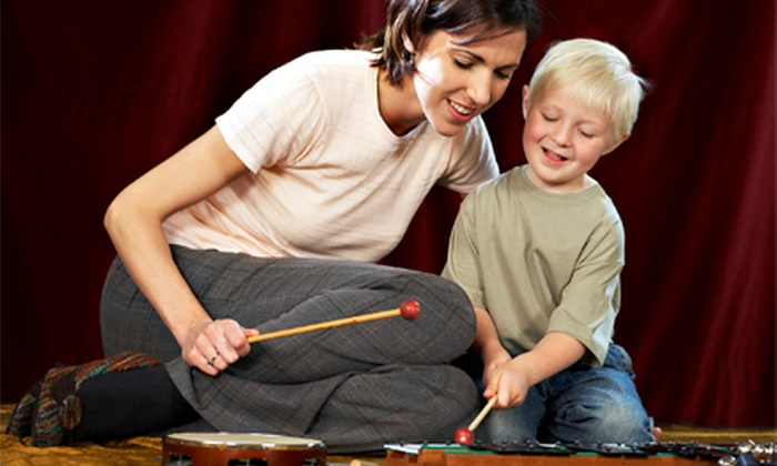 Growing Well Program - Burlington Town Center: $99 for 10 Weekly 45-Minute Music Classes for Babies and Toddlers at Growing Well Program ($205 Value)