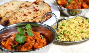 Pooja Restaurant: Indian Food at Pooja Restaurant (Up to 52% Off). Four Options Available.