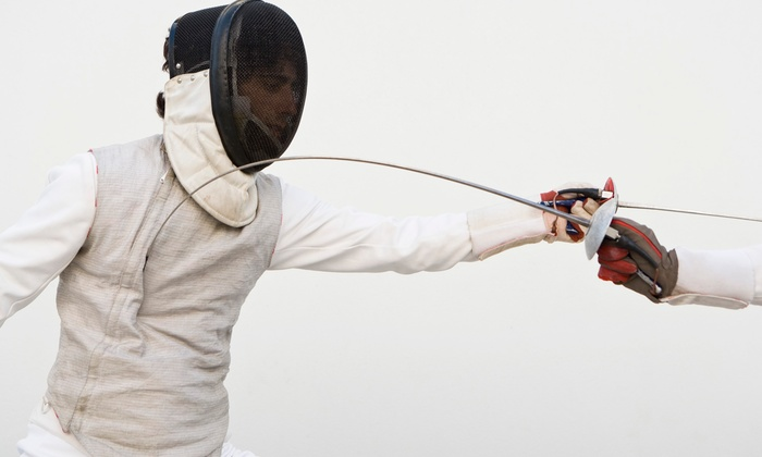 Island fencing academy plainview ny groupon childrens fencing lessons camp or birthday party at island fencing academy up to negle Choice Image