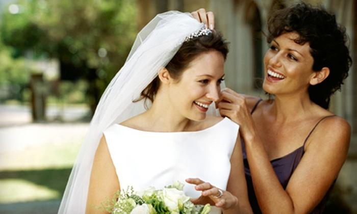 Wedding Works - Broken Arrow: Wedding Coordinator Service, Flowers and Tuxedo Package, or Wedding Dress Rental from Wedding Works (Up to 51% Off)