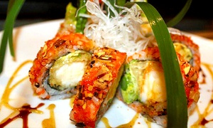 Mikado Japanese Cuisine: $13 for $25 Worth of Sushi and Japanese Entrees for Dinner at Mikado Japanese Cuisine