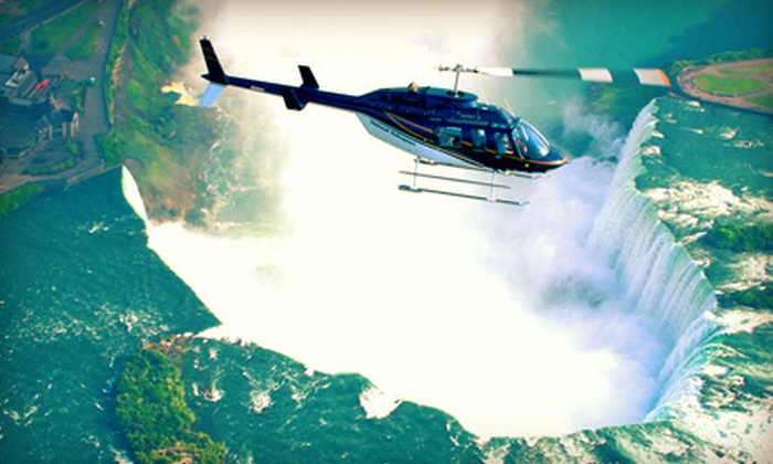 National Helicopters - Niagara on the Lake: Niagara Falls Helicopter Tour for One or Two from National Helicopters in Niagara-on-the-Lake (Up to 44% Off)