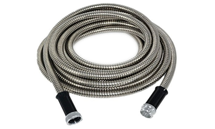25 or 50foot stainless steel garden hose 25 or 50 - Stainless
