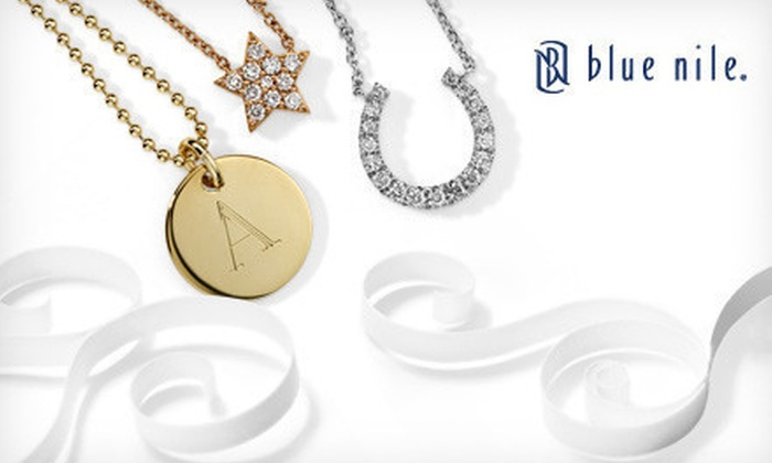 Blue Nile: $50 for $100 or $100 for $200 worth of Jewelry and Gifts from Blue Nile