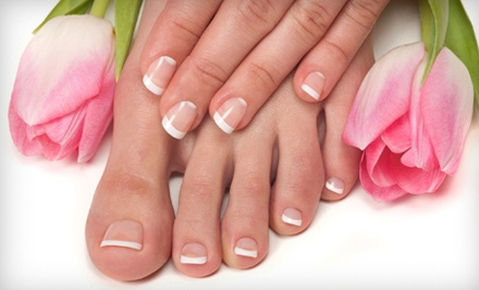 Spa Manicure and Pedicure (a $70 value) - Bailiwick Hair Center in Reading