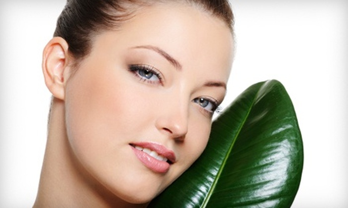 Nu Image Salon - Paradise Valley: Custom Massage or Elemental Nature Facial with Peel or Massage at Nu Image Salon (Up to 65% Off)