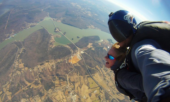 Chattanooga Skydiving Company - Chattanooga Skydiving Company: Tandem Skydive with Digital Video for One or Two from Chattanooga Skydiving Company (Up to 50% Off)
