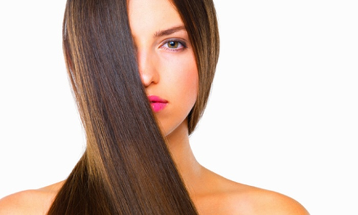 Adore Salon - Montclair: One or Two Brazilian Gloss Keratin Smoothing Treatments at Adore Salon (Up to 69% Off)