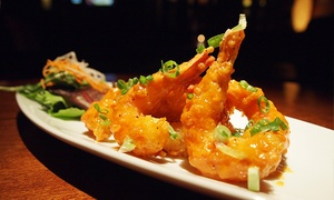Kobe Steakhouse Vancouver: CC$25 for Four Izakaya Appetizers for Two at Kobe Steakhouse Vancouver (CC$40 Value)