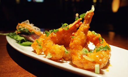 Izakaya Tapas for Two or Four at Kobe Japanese Steak and Seafood House (Up to 53% Off)