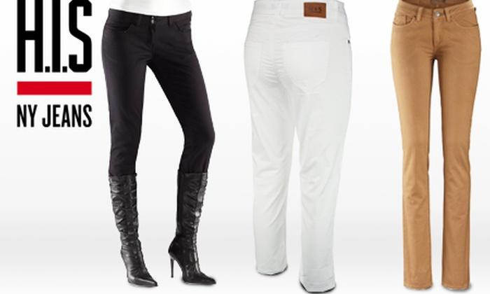 1, 2, 3 oder 5 H.I.S. Jeans | Groupon Goods