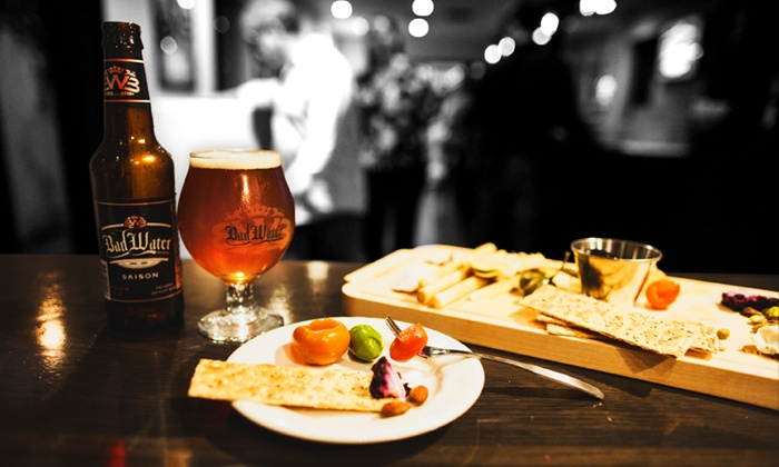 Bad Water Brewing - Scottsdale: Drinks and Charcuterie or a Taproom Experience for Two at Bad Water Brewing (Up to 45% Off)