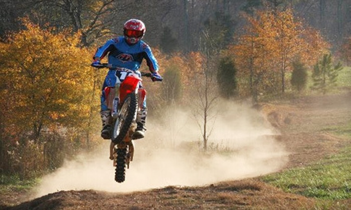 MidsouthmotoX - 10, Melville: $149 for a Four-Hour Dirt-Bike-Riding Lesson with Bike Rental and Equipment at MidsouthmotoX in Mebane ($385 Value)
