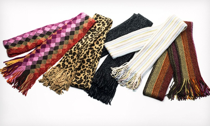 Cejon Muffler Scarves: $12 for Cejon Women's Metallic Acrylic Muffler Scarf ($36 List Price). Multiple Colors Available. Free Shipping.