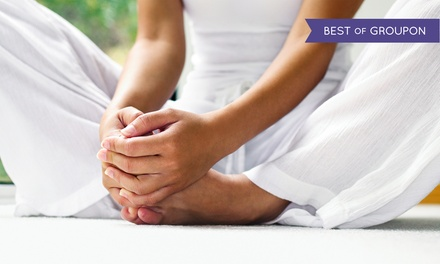 $49 for One Month of Unlimited Classes at YogaSource ($135 Value)