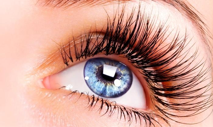 Blush & Bobby Pins - Carmel: Eyelash Extensions with Optional Three-Week Touchup at Blush & Bobby Pins (51% Off)