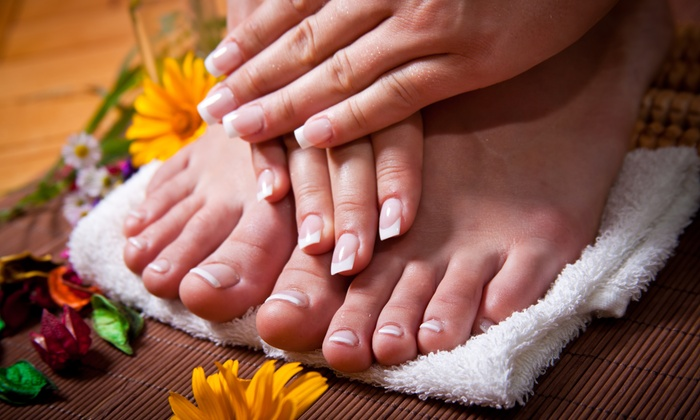 Silk Roses Salon Spa - Downers Grove: One or Two Mani-Pedis at Silk Roses Salon Spa (Up to 59% Off)