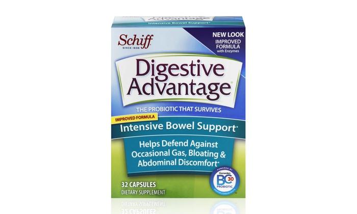 Digestive Advantage Intensive Bowel Support (3-Pack) - Abilene, TX: Digestive Advantage Intensive Bowel Support; 3-Pack of 32 Ct. Bottles + 5% Back in Groupon Bucks