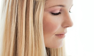 Salon Jasmine Hair and Nails: Men's or Women's Haircut Package at Salon Jasmine Hair and Nails (Up to 52% Off). Four Options Available.