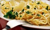 Saporissimo - Boca Raton: Four-Course Tuscan Dinner with Wine for Two or Four at Saporissimo (Up to 49% Off)