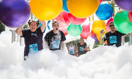Registration for One or Two to the 5K Foam Fest – Albuquerque on Saturday, September 27 (Up to 46% Off)