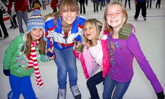 San Diego Ice Arena - San Diego Ice Arena: $20 for a Public Skating Session for Four with Skate Rentals at San Diego Ice Arena (Up to $48 Value)