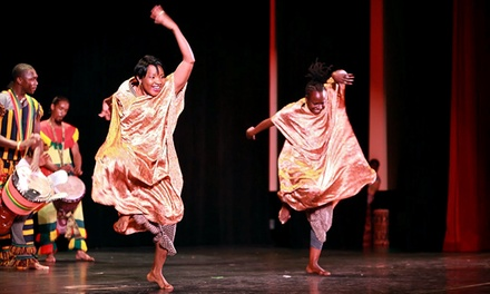 Wona Womalan West African Drum & Dance Ensemble for Two on Saturday, September 13, at 8 p.m. (Up to 50% Off)