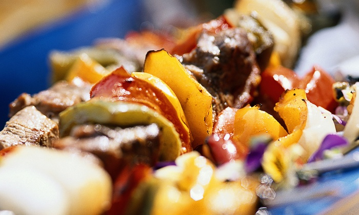 Aladdin Jr. Restaurant & Cafe - Pomona: Mediterranean and Arabic Cuisine at Aladdin Jr. Restaurant & Cafe (40% Off)