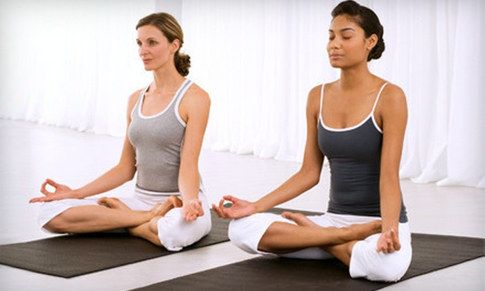 Hart Yoga Pilates & Massage - Legacy Ranch: One Month of Unlimited Yoga Classes with Optional Swedish Massage at Hart Yoga Pilates & Massage (Up to 81% Off)