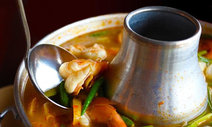 The Original Szechuan Chongqing Bistro - International Village: Hot Pot Meals for Two or Four at The Original Szechuan Chongqing Bistro (Up to 53% Off)