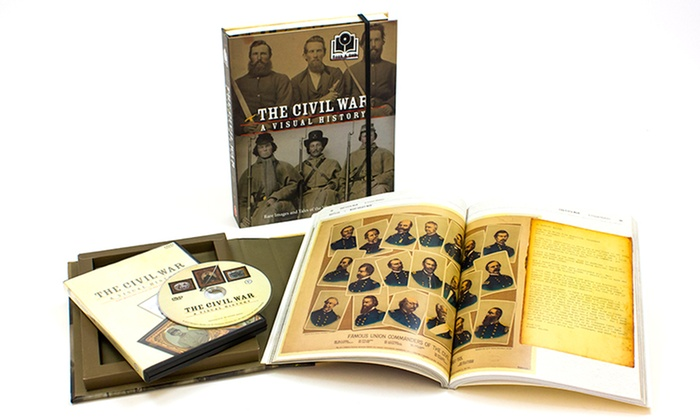 The Civil War: A Visual History Book and DVD Set: The Civil War: A Visual History Box Set