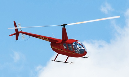 Waikiki Shoreline Helicopter Tour for One or Two from Novictor Aviation (52% Off)