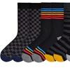 4 Pairs of K. Bell Men's Socks