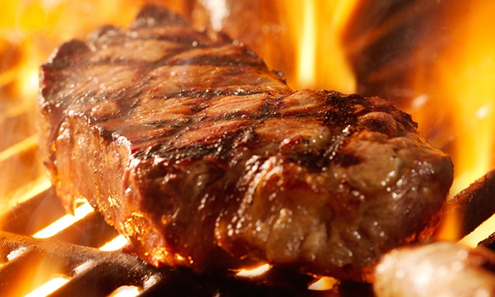 The Guadalupe Grill House - Seguin: Steak-House Cuisine at The Guadalupe Grill House (50% Off). Two Options Available.