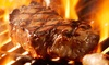 Guadalupe Grillhouse - Seguin: Steak-House Cuisine at The Guadalupe Grill House (50% Off). Two Options Available.