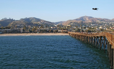 groupon daily deal - Stay at Vagabond Inn Ventura in Ventura, CA, with Dates into April
