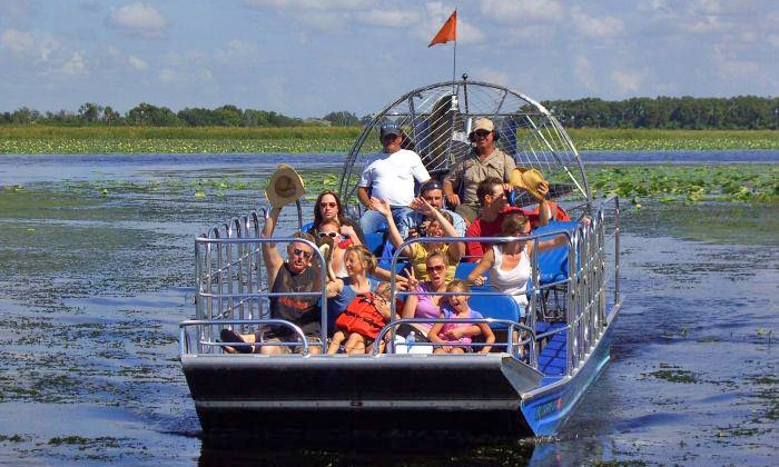 Big Toho Airboat Rides - Midway City: Airboat Tour of Florida Everglades for One or Two from Big Toho Airboat Rides (45% Off)