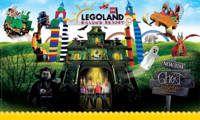 Legoland - Legoland: Od 279 zł: niezapomniane atrakcje dla całej rodziny w parku LEGOLAND® w Billund w Danii (-50%)